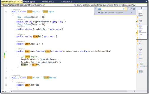 FindIndicationScrollBarVisualStudio2013