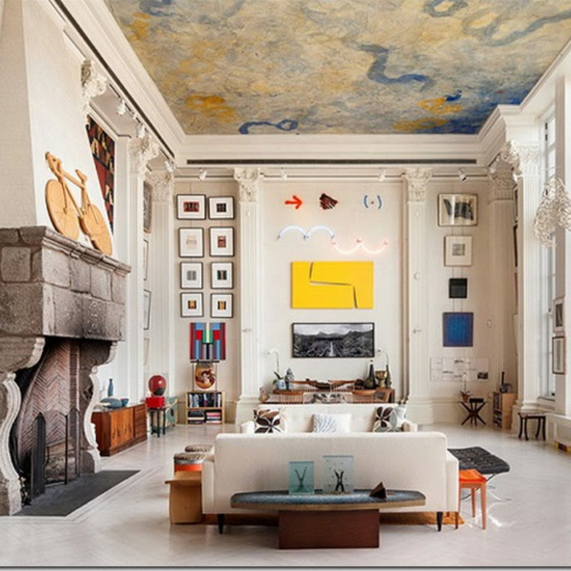 An Art Filled Apartment in Manhattan