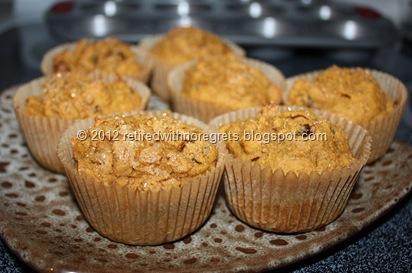 Pumpkin Raisin Spice Muffins   retiredwithnoregrets.blogspot.com