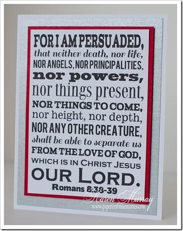 Romans 8:38,39 card