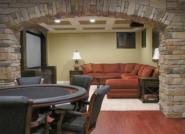 Man Cave Decor With Poker Table Man Cave Decor