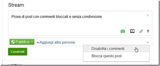 disabilitare-commenti-e condivisione-su-google-plus