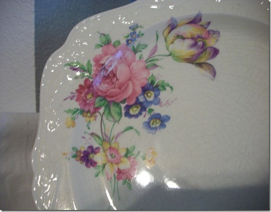 pink flower dishes 008