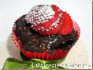 pão, D'Artagnan, cupcake de morango 038