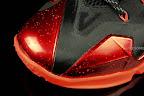 nike lebron 11 gr black red 1 08 New Photos // Nike LeBron XI Miami Heat (616175 001)