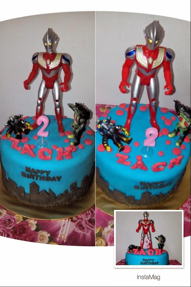 Ultraman Birthday Cake Design : szcutesweet: Ultraman birthday cake