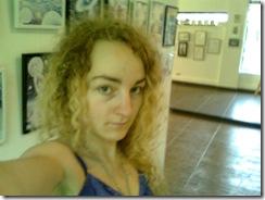 Corina Chirila in pavilionul B din Herastrau