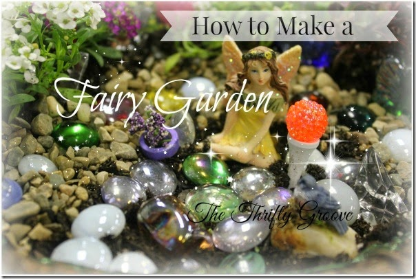 How to make a fairy garden 1