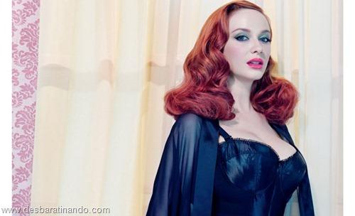 Christina Hendricks linda sensual sexy sedutora decote peito desbaratinando (55)