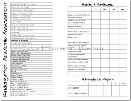 homeschoolers cards report fro