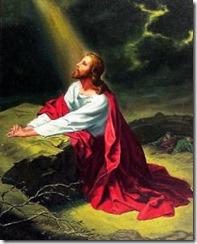 Yesus berdoa pada siapa