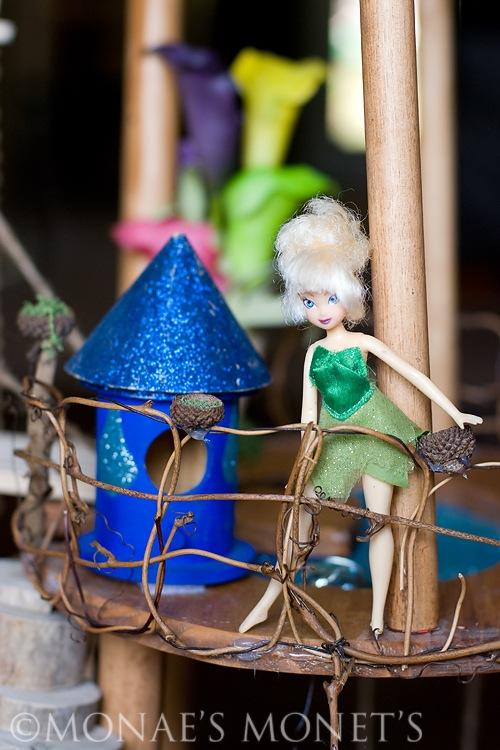 Fairy house tinkerbell blog