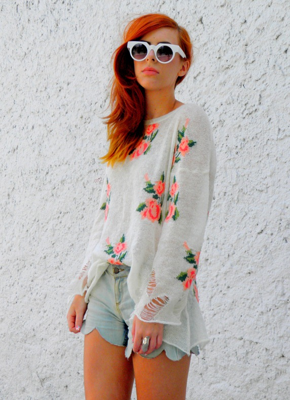 ROMWE FLORAL JUMPER 3