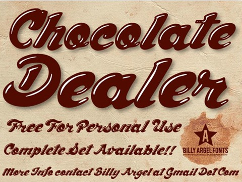 08-Chocolate-Dealer-font