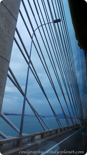 Penang Bridge Structure