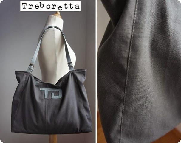canvas bag treboretta