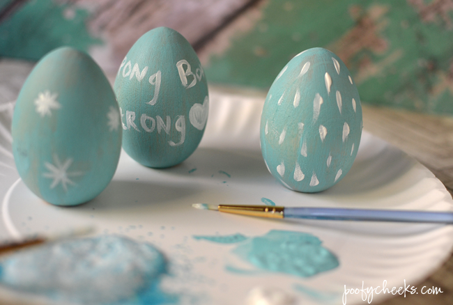 DIY Frozen Easter Eggs