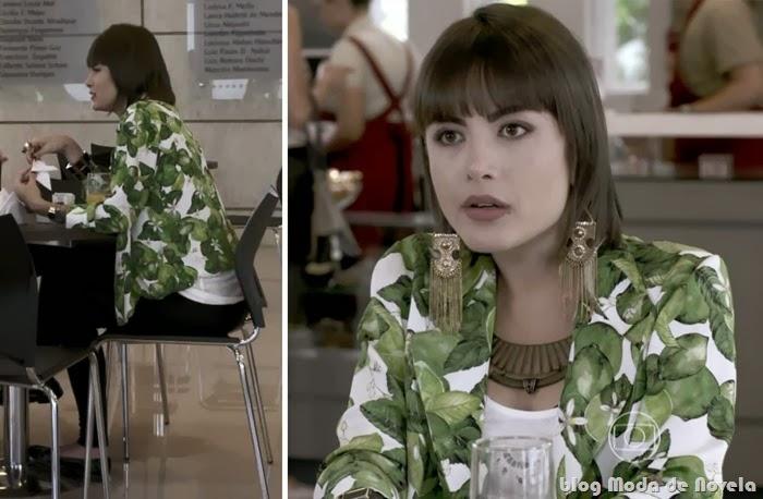 moda da novela Amor a Vida - look da Patrícia no dia 28 de novembro