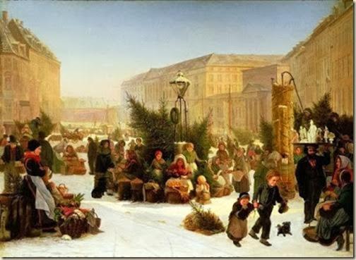 David Jacob Jacobson Vente d'arbres de Noël