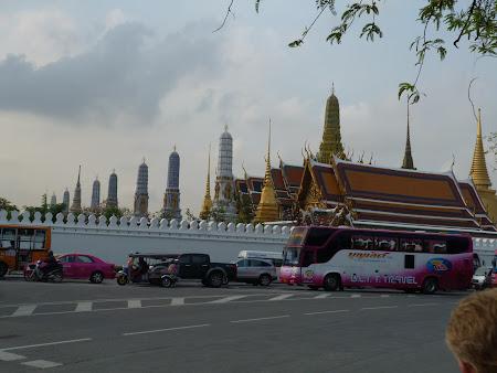 Obiective turistice Bangkok: spre Marele Palat