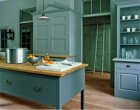 Bule Modern Class Kitchen