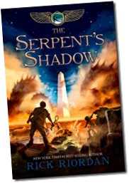 The Serpent's Shadow; Rick Riordan