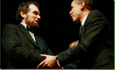 President-Obama-greets-lincoln