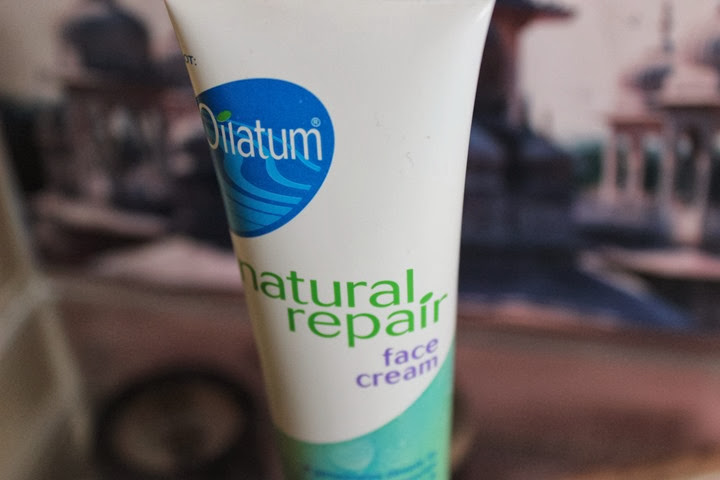 oilatum natural repair face cream review