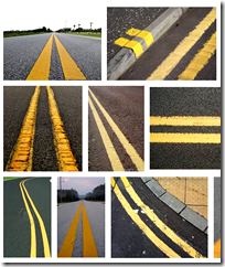 [Double-yellow lines]