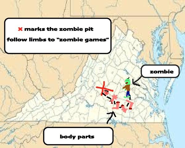 Zombie map
