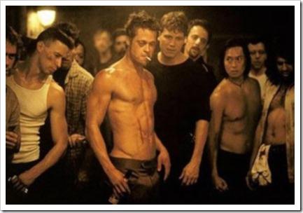 escena del club de la lucha
