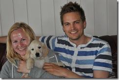 Golden Tress Rosa Celina, Silja, har reist til Røros til Anne Marit Engan og Steffen Moan