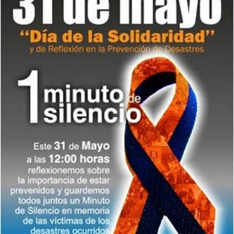 Día de la Solidaridad y de la Reflexión en la Prevención de Desastres