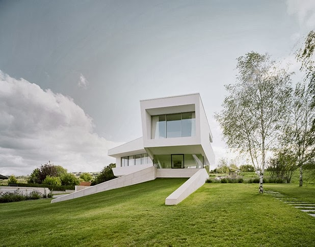 villa freundorf by project A01 architects 2