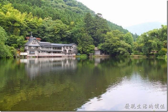 日本北九州-金鱗湖山水一色景緻倒是讓人感覺滿舒服的,個人覺得算是小家碧玉形。