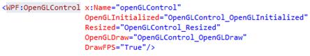opengl control .net