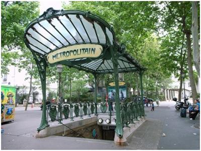 شبكة مترو باريس
