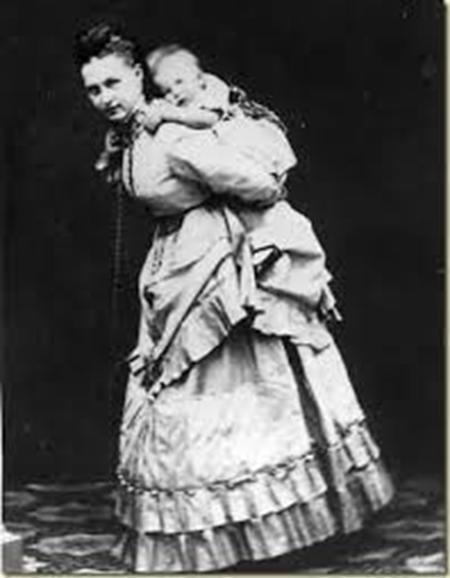Olga y su hijo