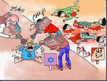 sionismo controle mídia