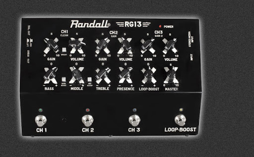 Randall introduces new RG13 Pedal amplifier
