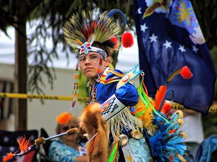 Lenape Powwow Fancy Dancer15