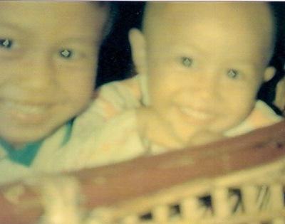 Two Little kids in Bliss