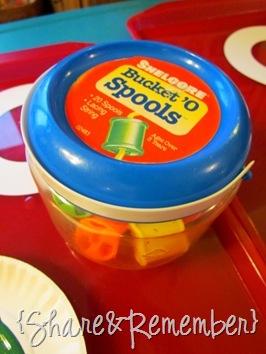Bucket 'O Spools