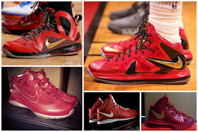 nike lebron 10 ps elite miami heat finals pe 6 01 Throwback Thursday: Looking Back at Nike LeBron 7 10 Finals PEs