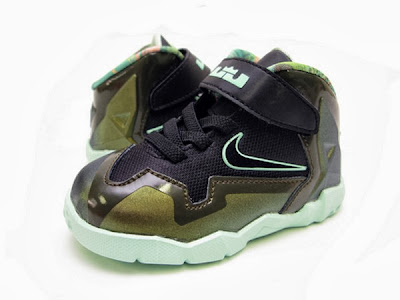 nike lebron 11 toddler army slate 1 01 parachute gold Nike LeBron XI Toddler Parachute Gold Available Now