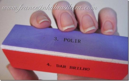 Bloco modelador de unhas