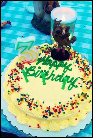 3rd Bday Cindy Cake