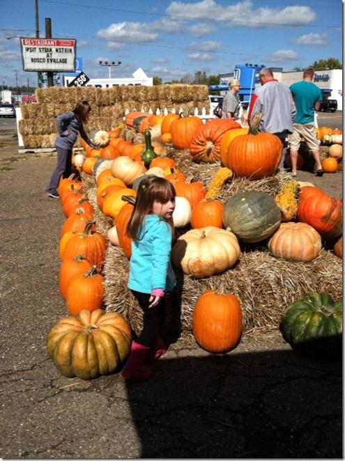 pumpkins grandkids