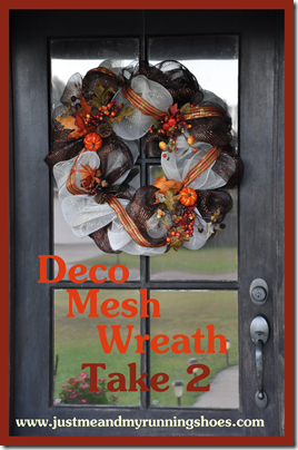 Deco Mesh Wreath 19