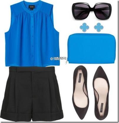 Royal Blue Mix N Match 01